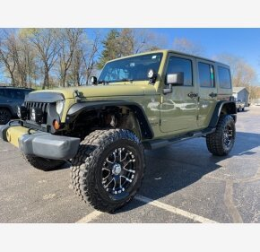 2013 Jeep Wrangler 4WD Unlimited Sahara for sale 101127715