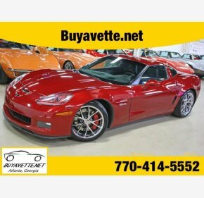 2010 Chevrolet Corvette Z06 Coupe for sale 101127910