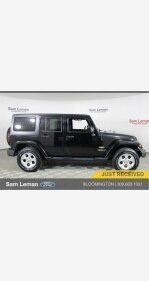 2014 Jeep Wrangler 4WD Unlimited Sahara for sale 101128057