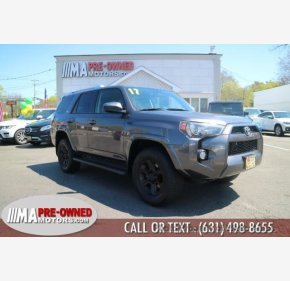 2017 Toyota 4Runner 4WD for sale 101128497