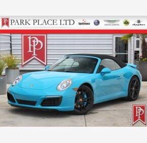 2017 Porsche 911 Cabriolet for sale 101128844