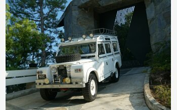 1967 Land Rover Series II for sale 101129273