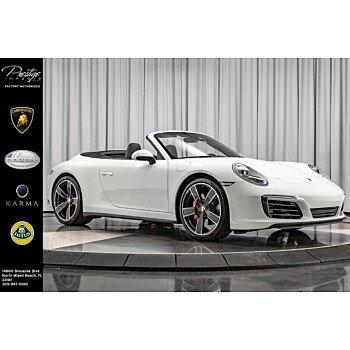 2017 Porsche 911 Cabriolet for sale 101129279