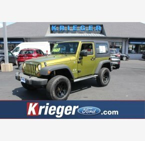 2007 Jeep Wrangler 4WD X for sale 101129339