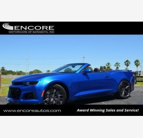 2017 Chevrolet Camaro for sale 101129627