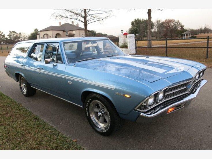 1969 Chevrolet Malibu Wagon for sale near bedford, Texas 76021