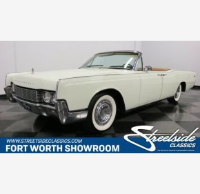 1967 Lincoln Continental for sale 101130769