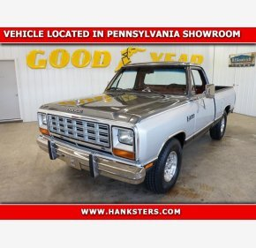 1985 Dodge D/W Truck 2WD Regular Cab D-150 for sale 101130794