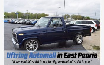 1984 Ford F150 2WD Regular Cab for sale 101132412