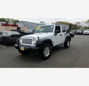 2018 Jeep Wrangler JK 4WD Unlimited Sport for sale 101132420