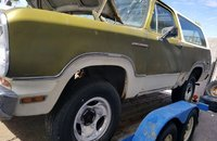 1974 Dodge Ramcharger AW 100 4WD for sale 101132424