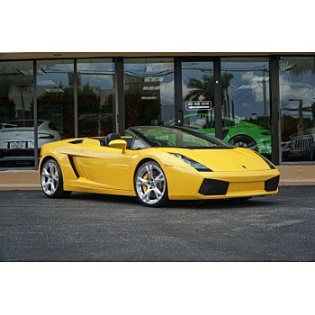 2007 Lamborghini Gallardo Spyder for sale 101132438