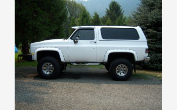 1985 Chevrolet Blazer 4WD for sale 101132465