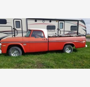 1971 Dodge D/W Truck 2WD Regular Cab D-100 for sale 101132472