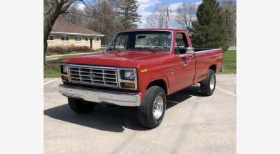 1986 Ford F150 for sale 101132694