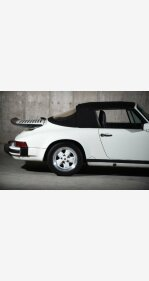 1987 Porsche 911 Carrera Cabriolet for sale 101132942