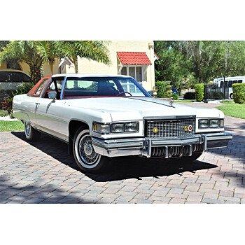 1975 Cadillac De Ville for sale 101132971