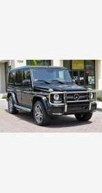 2016 Mercedes-Benz G63 AMG 4MATIC for sale 101133796