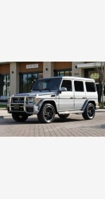 2016 Mercedes-Benz G63 AMG 4MATIC for sale 101133813