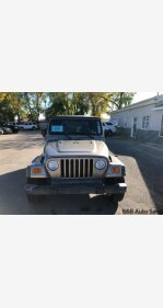 2003 Jeep Wrangler 4WD SE for sale 101135122