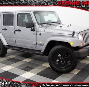 2014 Jeep Wrangler 4WD Unlimited Sahara for sale 101135205