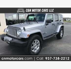 2016 Jeep Wrangler 4WD Unlimited Sahara for sale 101135274