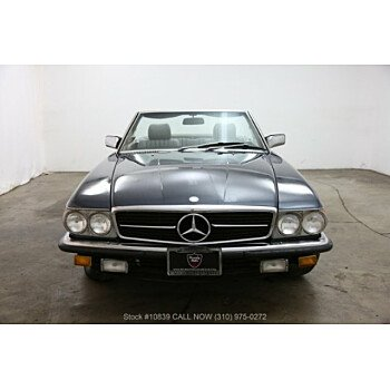 1984 Mercedes-Benz 500SL for sale 101136207