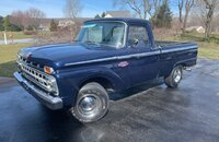 1965 Ford F100 2WD Regular Cab for sale 101136488