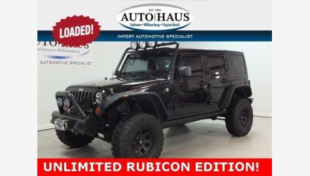 2012 Jeep Wrangler 4WD Unlimited Rubicon for sale 101136618