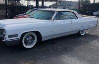 1966 Cadillac De Ville Coupe for sale 101137458