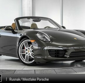 2015 Porsche 911 Carrera Cabriolet for sale 101137991