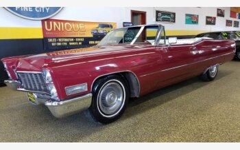 1968 Cadillac De Ville for sale 101138014