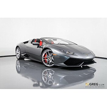 2017 Lamborghini Huracan LP 610-4 Spyder for sale 101138630