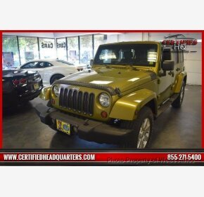 2008 Jeep Wrangler 4WD Unlimited Sahara for sale 101138700