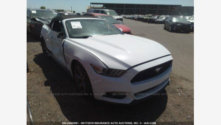 2015 Ford Mustang Convertible for sale 101139061