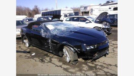 2015 Chevrolet Camaro LT Convertible for sale 101139170