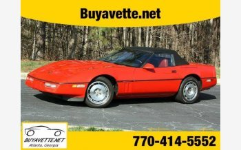 1987 Chevrolet Corvette Convertible for sale 101139264