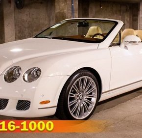2010 Bentley Continental GTC Speed Convertible for sale 101139462
