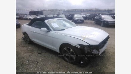 2015 Ford Mustang Convertible for sale 101139858