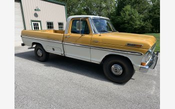 1972 Ford F250 2WD Regular Cab for sale 101140025