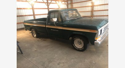 1979 Ford F100 2WD Regular Cab for sale 101140214