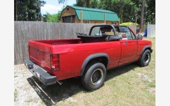 1989 Dodge Dakota 2WD Convertible for sale 101140437