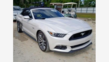 2017 Ford Mustang GT Convertible for sale 101140658
