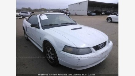 2002 Ford Mustang Convertible for sale 101140755