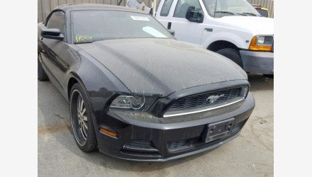 2013 Ford Mustang Convertible for sale 101141284