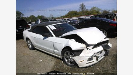2013 Ford Mustang Convertible for sale 101141414