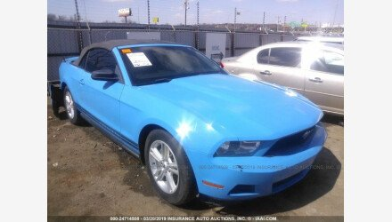 2012 Ford Mustang Convertible for sale 101141416