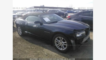 2014 Chevrolet Camaro LT Convertible for sale 101141517