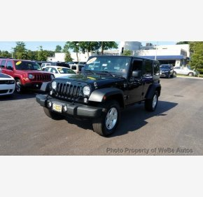 2017 Jeep Wrangler 4WD Unlimited Sport for sale 101141618