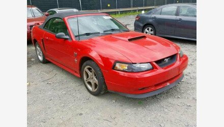 2002 Ford Mustang GT Convertible for sale 101141780
